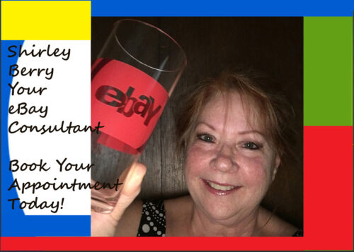 1 Hour Consulting w/ Shirley Berry Certified Business Consultant Trained by eBay