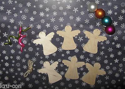 Geschenkanhänger für Weihnachten - Motiv Engel Geschenk basteln Kinder Typ 2 ()