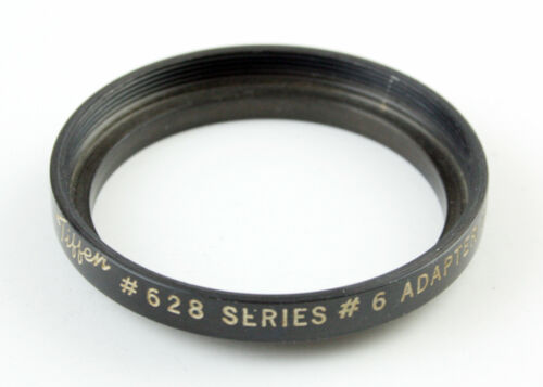 U198666 Black 40.5mm Series VI Threaded Step-Up Adapter Ring Series 6