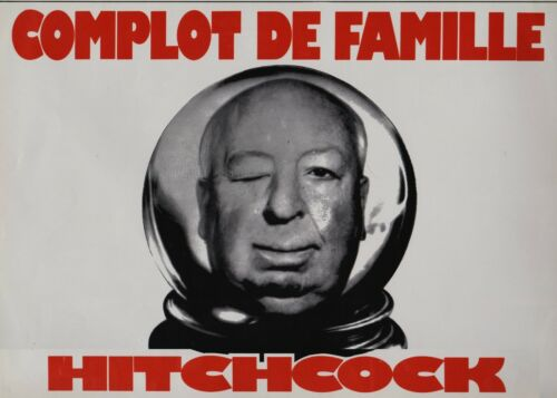 Alfred HITCHCOCK French Pressbook  FAMILY PLOT COMPLOT DE FAMILLE