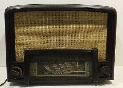 Radio Marconi 546K Recepteur Tipo 56 Rundfunkempfänger Baquelita Sammlergerät segunda mano  Embacar hacia Spain