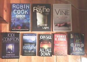 For Sale - Assorted crime/thriller fiction books