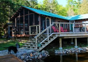 Haliburton Cottage at Water's Edge