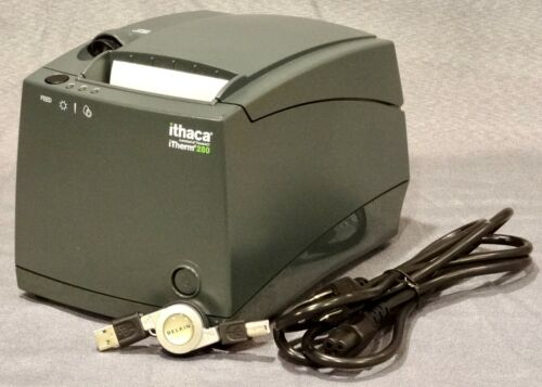 TransAct Ithaca iTherm 280 POS Thermal Printer 280-USB-DG, Excellent Condition