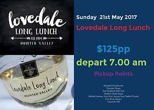 Lovedale Long Lunch Sunday 21st May 2017 East Maitland Maitland Area Preview