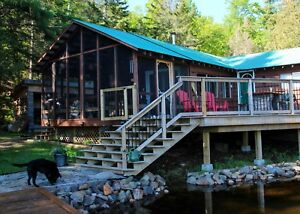 Cottage at Water's edge rental September