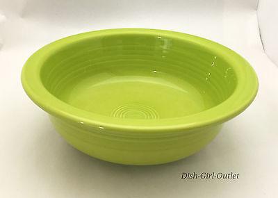 Fiestaware 1qt Large Serving Bowl Lemongrass  Homer Laughlin Fiesta