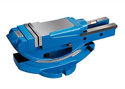 Tilting Hydraulic Vise Thv-150 6 Wide 12 Opening