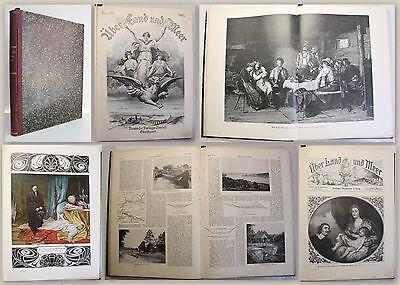 Über Land und Meer Allgemeine illustrierte Zeitung Band 94 1905 Nr. 27-52 xy