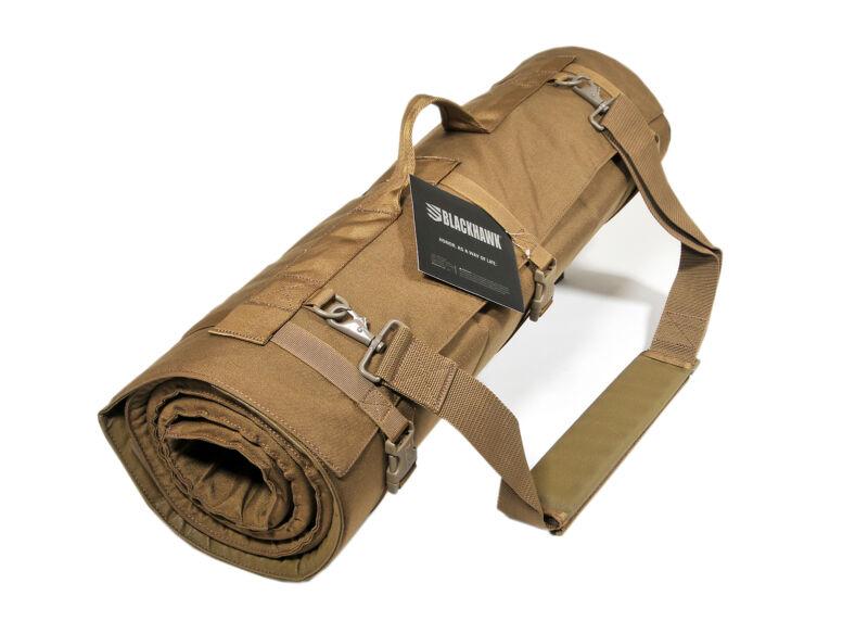 Blackhawk Pro Shooter Mat 82x27, Padded Shooting mat, Storage pocket, Desert Tan