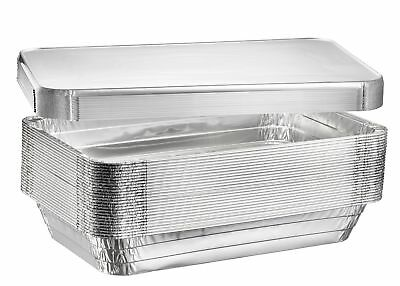 Full Size Deep Steam Table Pans Disposable Aluminum Chafing And Catering Pans