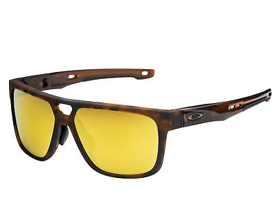 Oakley Crossrange Patch sunglasses Matte Tort 24K 9391-0160 Asian (Tort Sunglasses)