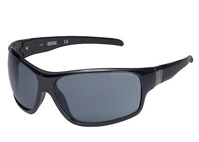 Kenneth Cole Reaction KC1141 2A Men's Black Smoke Lenses Sunglasses KC1141 02A