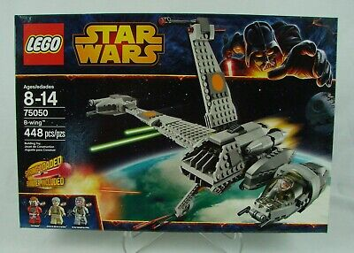 "Lego ~ Star Wars episode VI #75050  ""B-wing""  (2014) 448 pcs ~ New In Sealed Box"
