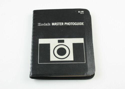 U202599 Kodak Master Photoguide Pocket Guide 1969 Genuine Original Photography