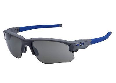 Oakley Sunglasses Flak Draft Matte Dark Grey w/Blk Iridium OO 9364-02 67