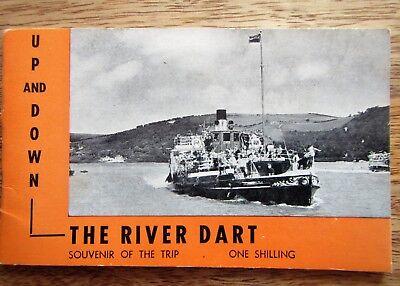 River Dart Souvenir Booklet c1965