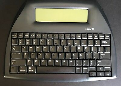 Alphasmart Neo 2 Portable Word Processor. Cablebatteries Included