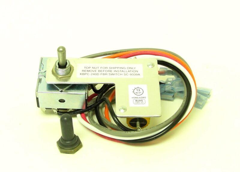 KB Electronics Forward-Brake-Reverse Switch 9339 for KBPC-240D upc 024822093392