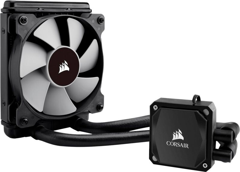 CORSAIR Hydro Series 120mm Liquid Cooling System Black H60