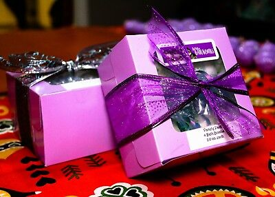 Gift Box, 4 Shower Steamers, bath bombs, Spa Gift Set, Birthday, Christmas gift  (Birthday Spa Gift)