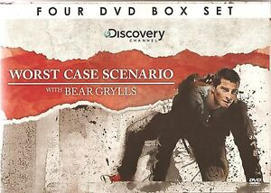 WORST CASE SCENARIO WITH BEAR GRYLLS - 4 DVD BOX SET