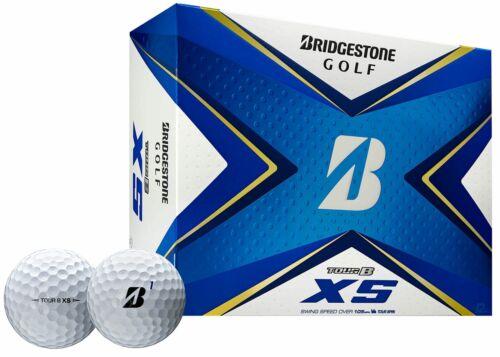Bridgestone 2020 Tour B XS Golf Balls 1 Dozen - White
