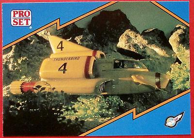 Thunderbirds PRO SET - Card #037 - Thunderbird 4 - Pro Set Inc 1992