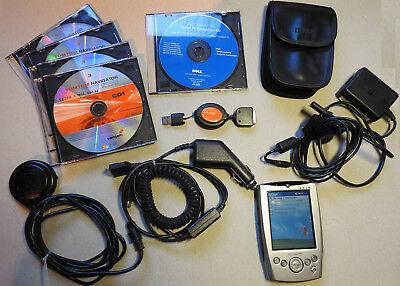 Dell Axim X5 Pocket PC inklusive TomTom für Pocket PC und GPS Receiver Tomtom Gps Pda