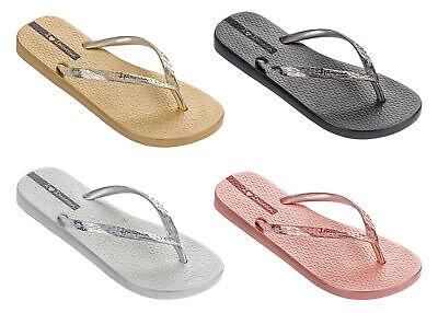 Ipanema - Ladies Glam 21 Flip Flops, Summer Beach, Pool Sandals, 100% Recyclable