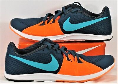 detailed look 14359 19852 Nike Zoom Rival XC Racing Blue   Total Orange Track Shoes Sz 5.5 NEW 904718  438