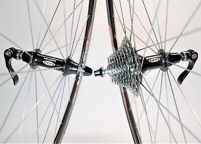 EASTON CIRCUIT BICYCLE 700c  DOUBLEWALL 24/28 SPOKE SHIMANO 105 10 SPD WHEEL SET Easton Bicycle Wheels