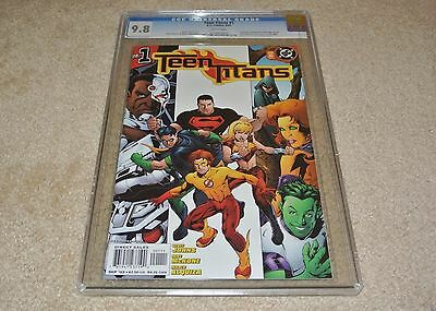 CGC 9.8 TEEN TITANS #1 [FIRST PRINTING] MIKE McKONE VARIANT COVER 2003