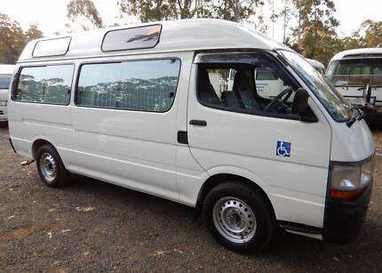 2001 Toyota Hiace Commuter WheelChair van, 5964 kms since new!!!