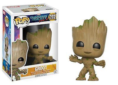 POP! Marvel Guardians of the Galaxy 2 Groot 202 Vinyl Bobble