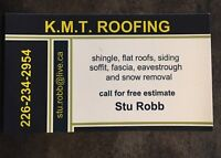 K.M.T Roofing