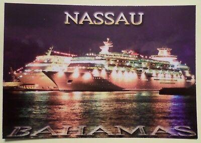 2959de629 mv Sovereign of the Seas & Fantasy, Royal Caribbean Carnival Cruise Ship  Night