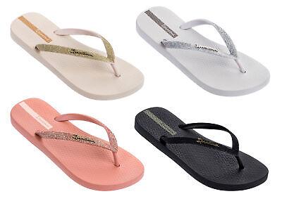Ipanema - Ladies Lolita Glitter 21 Thong Flip Flops, 100% Recyclable Materials