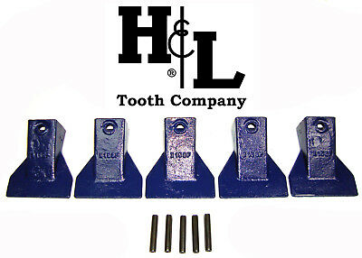 X156f Flare Wide Hensley Style Bucket Teeth 5 Pack Pins By Hl Tooth Co. 156