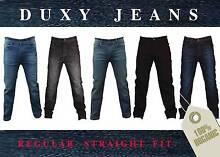 Men's Stretchable Denim Regular fit Jeans, Duxy