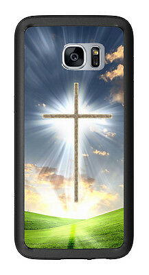 Christian Cross For Samsung Galaxy S7 Edge G935 Case Cover b