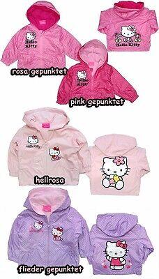 Hello Kitty Jacke Baby 68 74 80 86 Übergang Fleece Übergangsjacke Girl Frühjahr