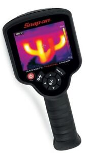 Snap-on thermal imager