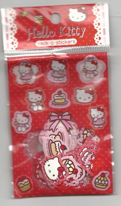 Sanrio Hello Kitty Sack o Stickers Cakes