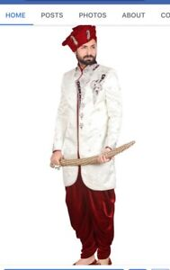 Wholesale business of indian Mens clothing kurta Sherwani jodhpu