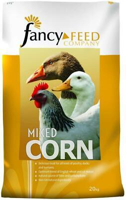 Fancy Feeds Mixed Corn 20kg Poultry Treat Food Dust Free with Locally Sourced