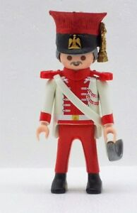 Oficial-Garde-POLONIA-PLAYMOBIL-tschakko-schapska-Napoleon-Empire-Polaco-Custom