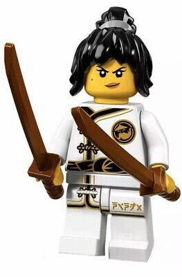 LEGO MINIFIGURES (71019)LEGO NINJAGO MOVIE-Spinjitzu Training Nya-Factory Sealed