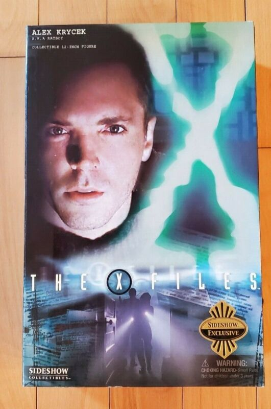 """Sideshow Collectibles X-Files Alex Krycek 12"""" Collectible ULTRA RARE"""