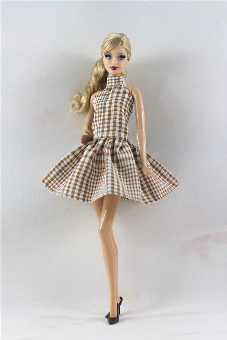 Lovely Fashion Dress/Clothes/Ballet Dress For Barbie Doll C01
